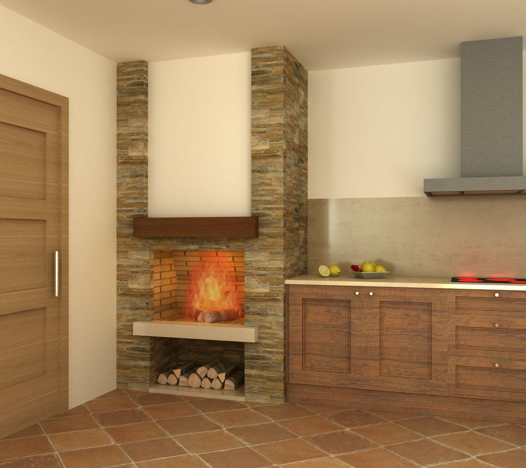 affordable resultado de imagen para como disear una chimenea de lea with diseo de chimeneas de lea - Chimeneas Rusticas De Lea