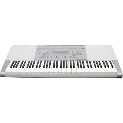Casio Lk 240 61 Key Portable Premium Portable Keyboard Package With Headphones Stand And Power Supply By C Portable Keyboard Yamaha Keyboard Electric Keyboard