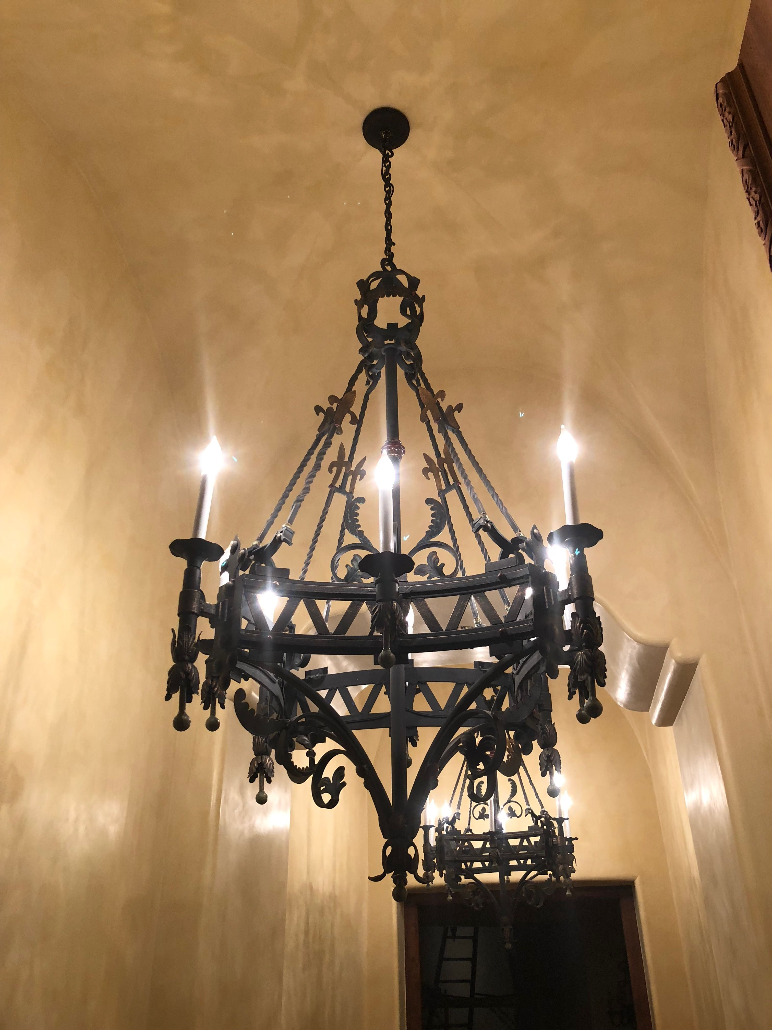 Custom Chandelier Custom Chandelier Iron Chandeliers Wrought