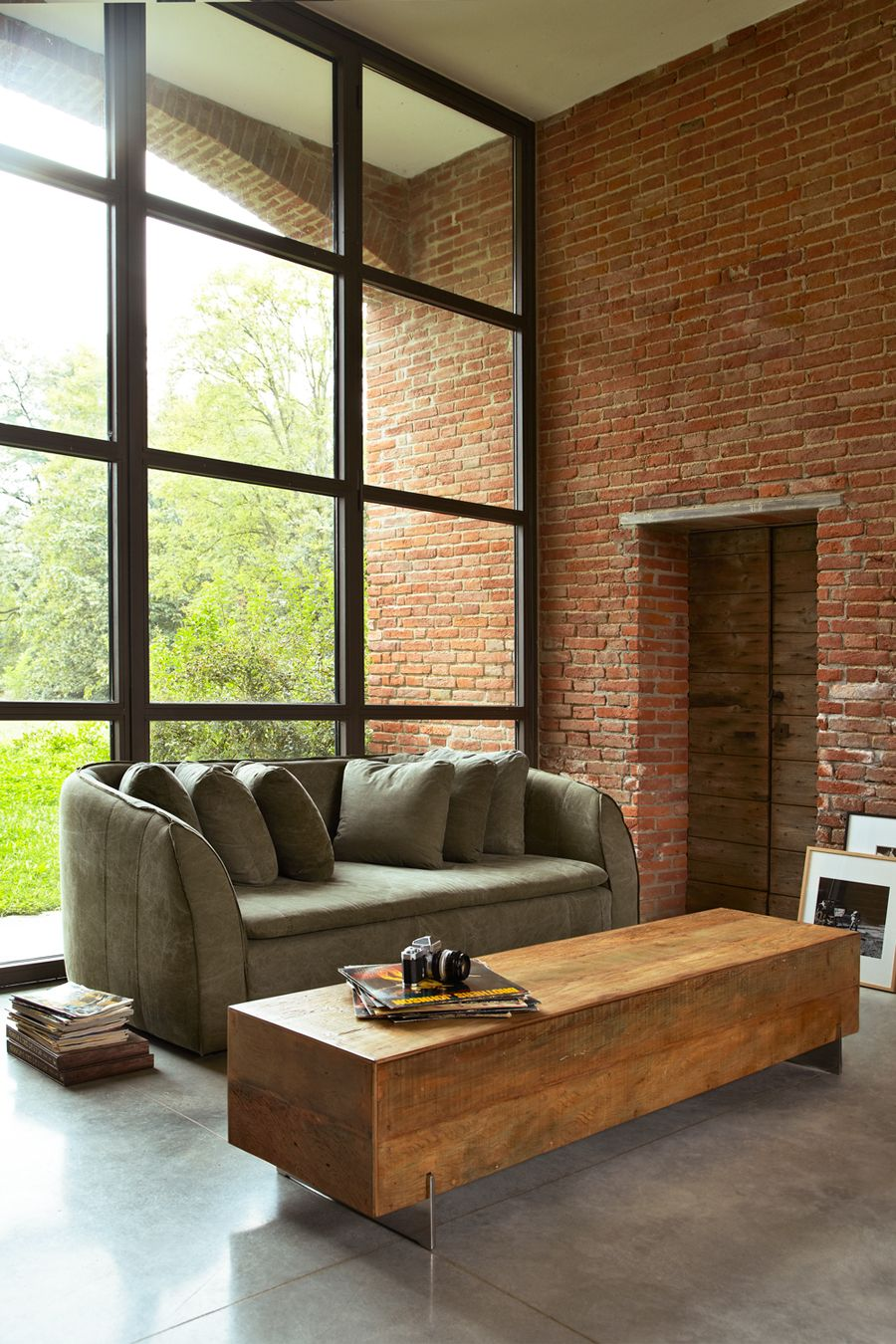 Pacifica Sofa Made From Reclaimed Shelter Half Army Tent