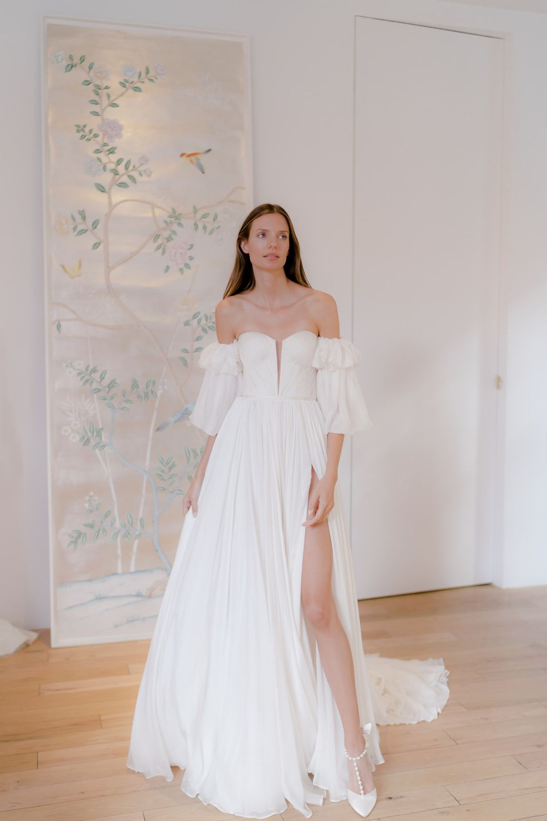 Modern Minimalist Gowns From Our Fw2020 Collection In 2020 Modern Wedding Dress Minimalist Wedding Dresses Modern Wedding Dresses Minimalist