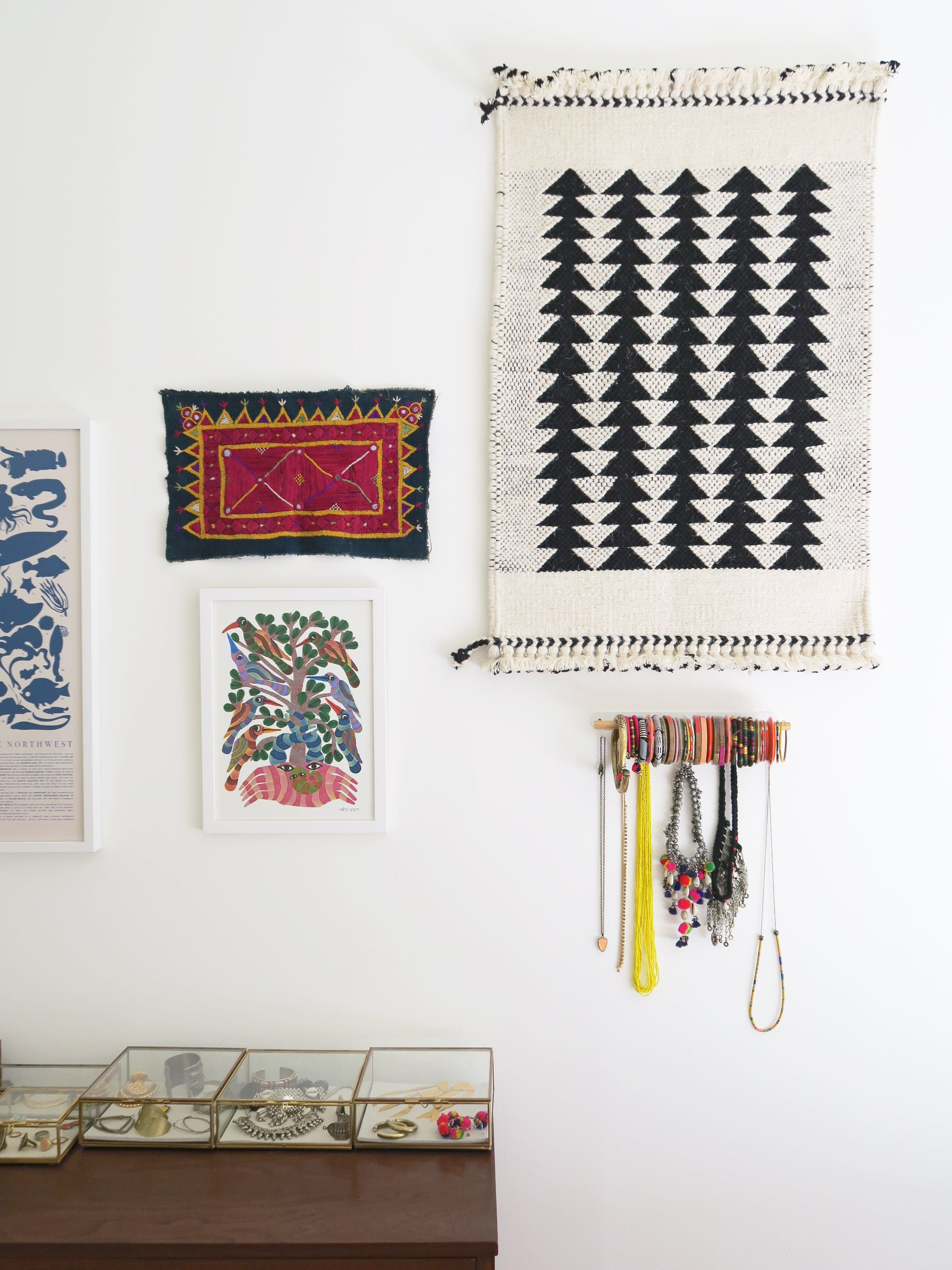 A Textile Company Founder's Cozy Fifth Floor Walk-up Is Full of