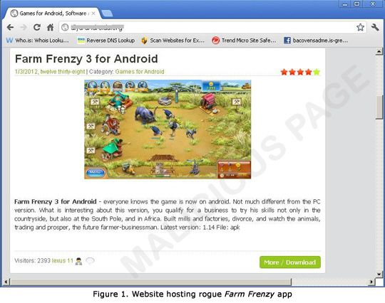 Rogue Farm Frenzy 3 for Android Unearthed