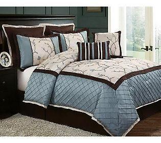 Alexandria 8 Piece King Bedding Set | King beds, Alexandria and ...