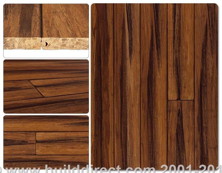 BuildDirect® Yanchi Bamboo Barn Plank Strand Woven