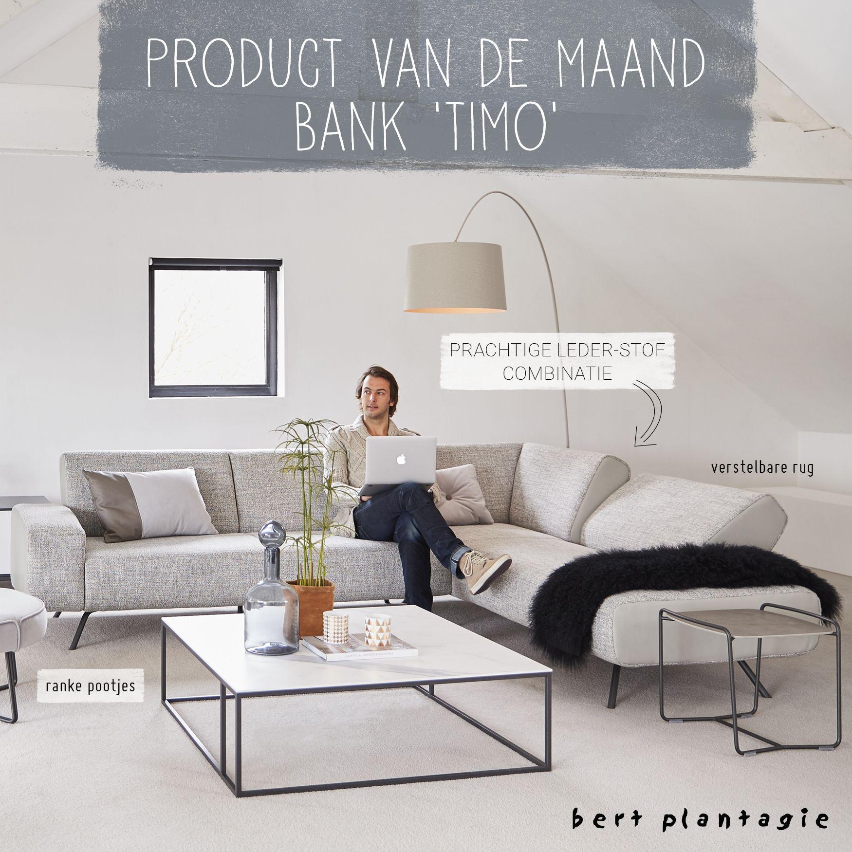 bert plantagie timo bank sofa dutchdesign wooninspiratie inspiration - Banksofa