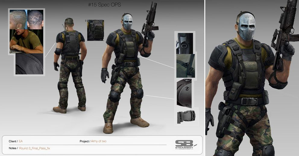 Army Of Two Ea Steambotstudios Com With Images Army Of Two