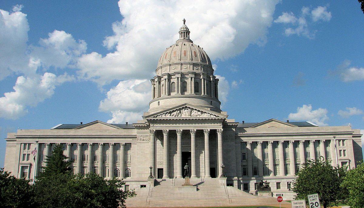Missouri State Capitol: Jefferson City. Built: 1911-1917. Architectural Style: Classical Revival.