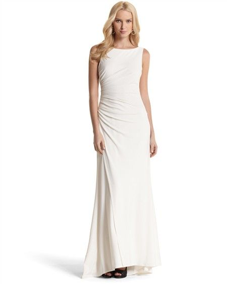 White House Black Market Wedding Dress On Sale At 119 Wedding