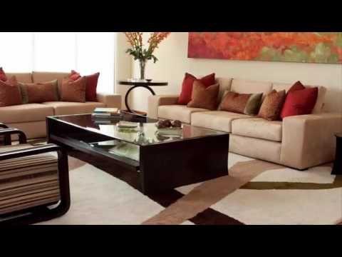 14 ideas para decorar una sala color caf decoraci n de la - Youtube decoracion de interiores ...