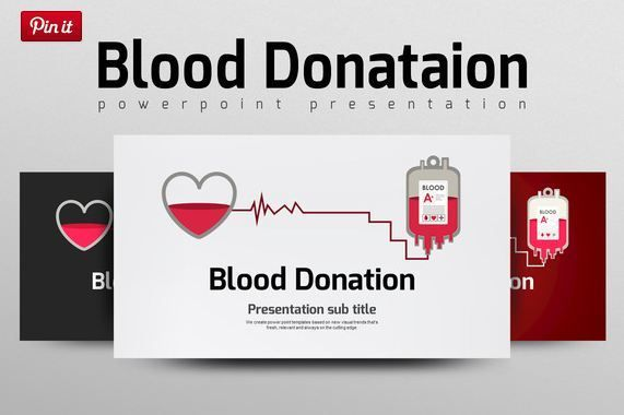 Blood Donation ppt template http\/\/textycafe\/13-medical - sample medical powerpoint template
