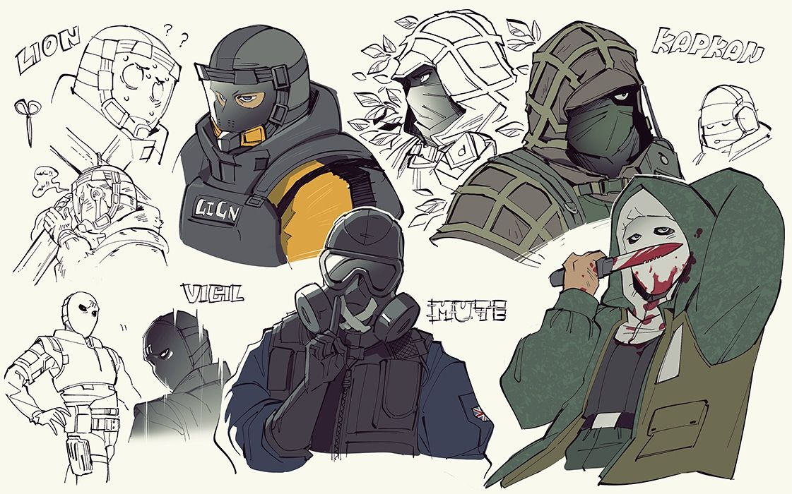 Pin By Kit The Poster On R6s Is Lit Rainbow Six Siege Art