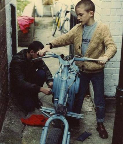 Dude mechanic and skank lad
