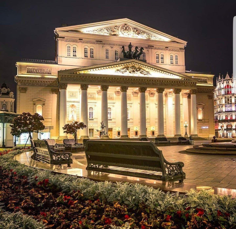 Большой театр (The Bolshoi Theatre). Фото: Батыр ...