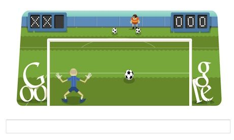 London 2012 Football Friday S Google Doodle Game Google Doodles Doodles Games Doodles