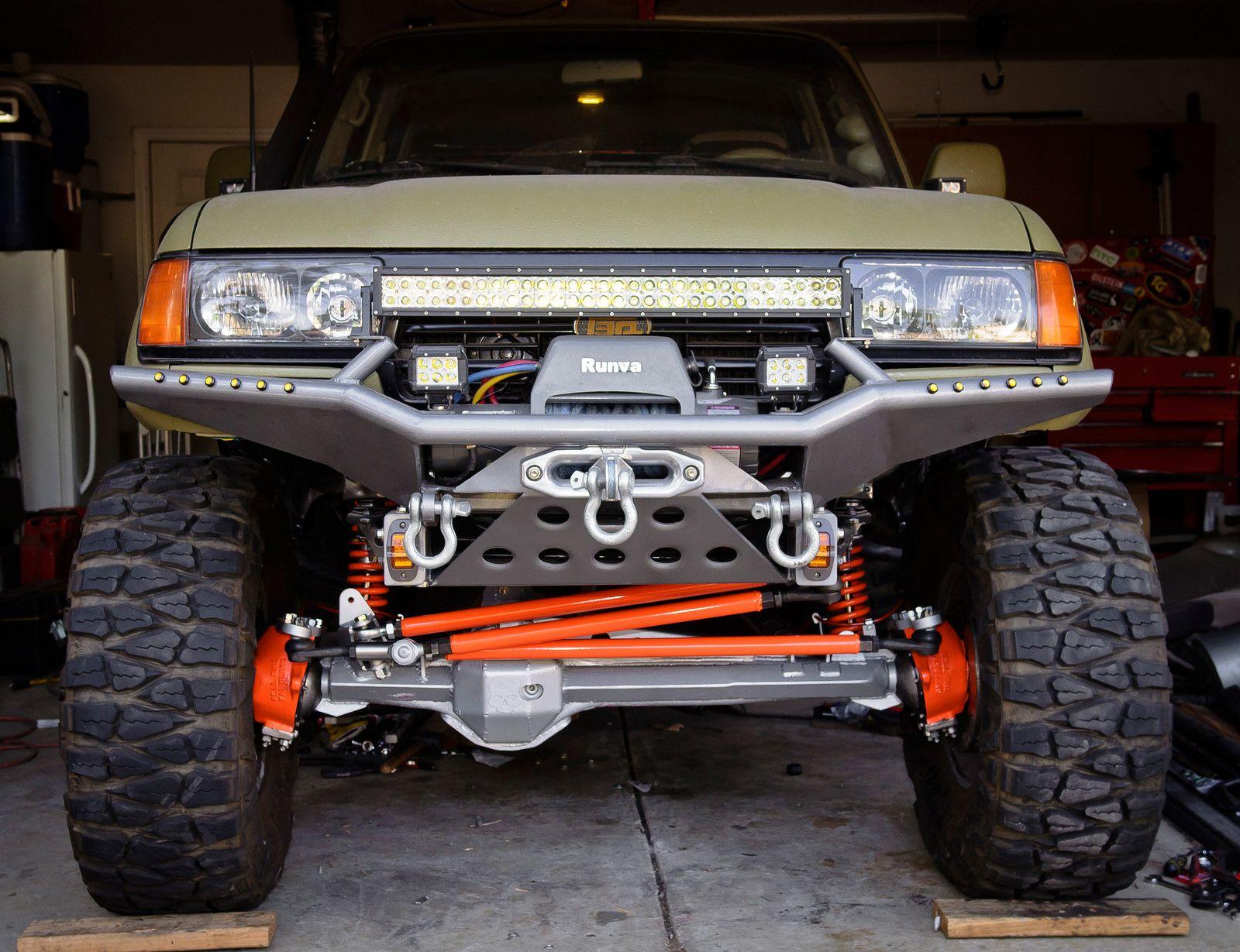 www 4wheelunderground com fj80front3link html   Toyota FJ
