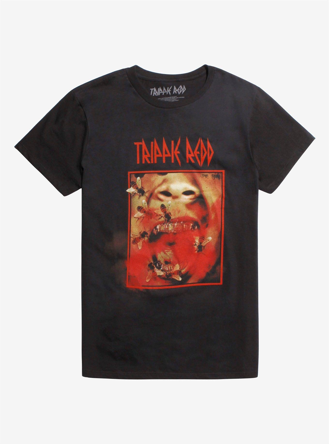 5003c30e4cbf Trippie Redd Bee Mouth T-Shirt in 2019 | Tees | Trippie redd, T ...