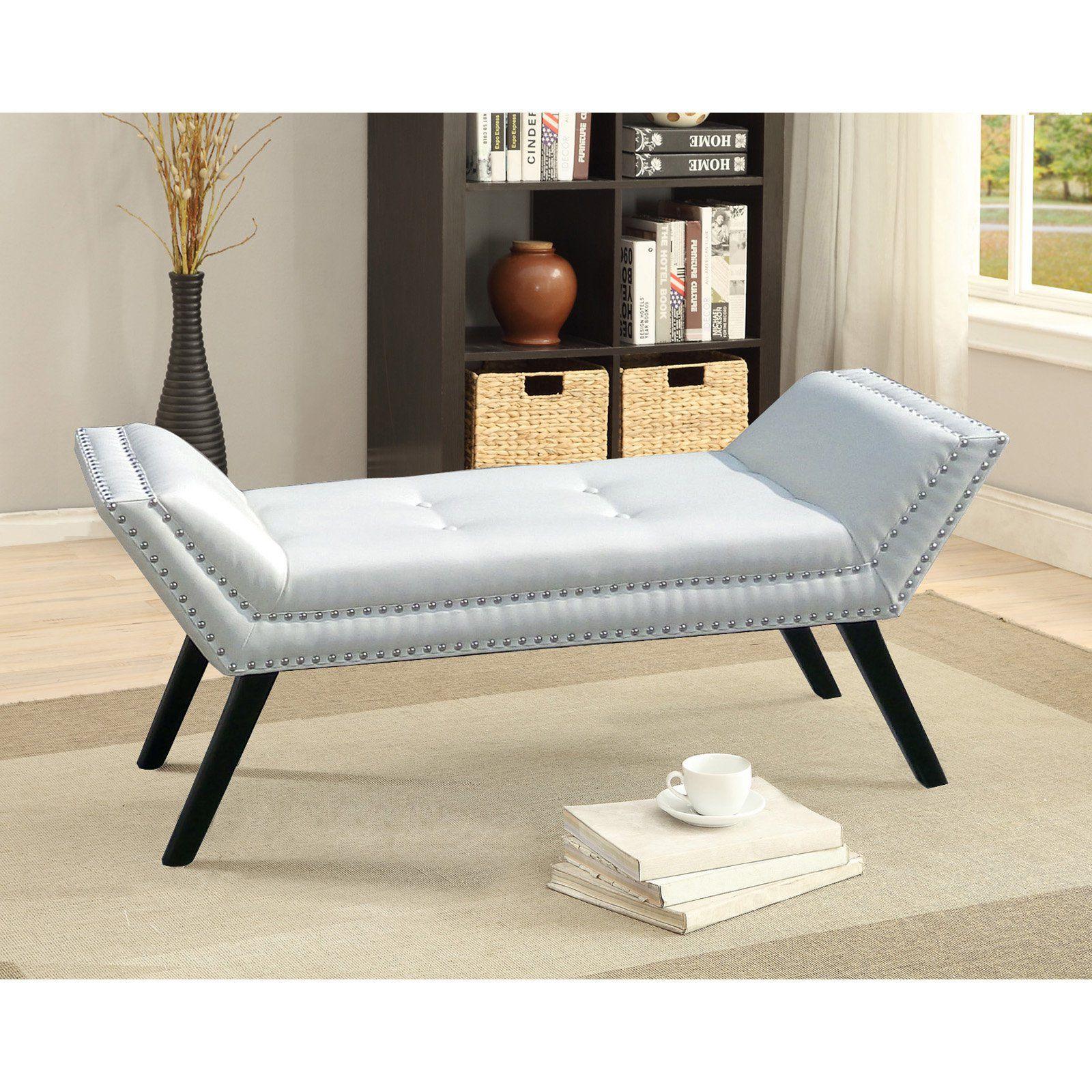Fantastic Baxton Studio Tamblin Bedroom Bench Products In 2019 Short Links Chair Design For Home Short Linksinfo