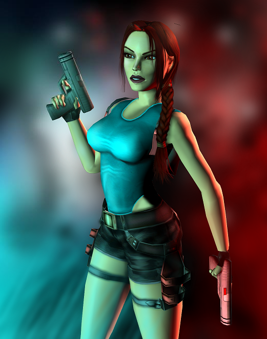 Classic Lara Croft By Ligufaca Classic Lara Croft Tomb Raider Lara Croft Lara Croft