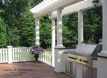 Ipe Decking With Outdoor Built In Grill Http Jbuckleyinc