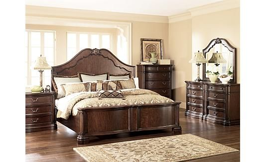 Camilla Panel Bedroom Set Ashley Furniture King Bedroom Sets Wooden Bedroom Bedroom Furniture Design