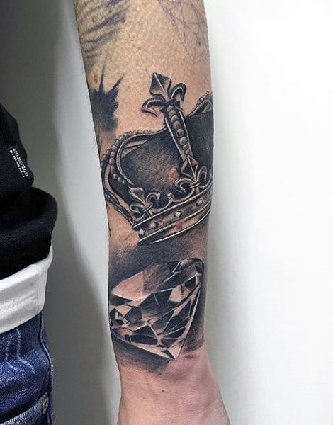 100 crown tattoos for men - kingly design ideas | tattoos