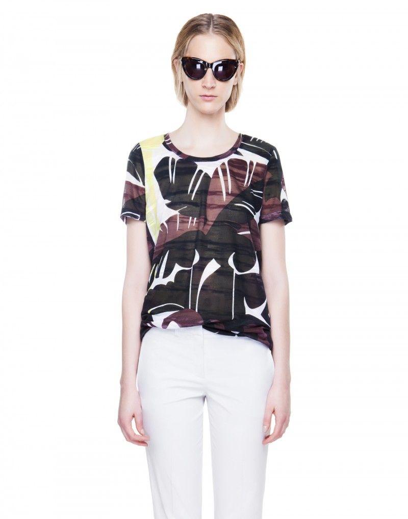 #CAMISETA @BIMBA Y LOLA : 32€ #moda #verano #tropical #trend #primavera #estilo