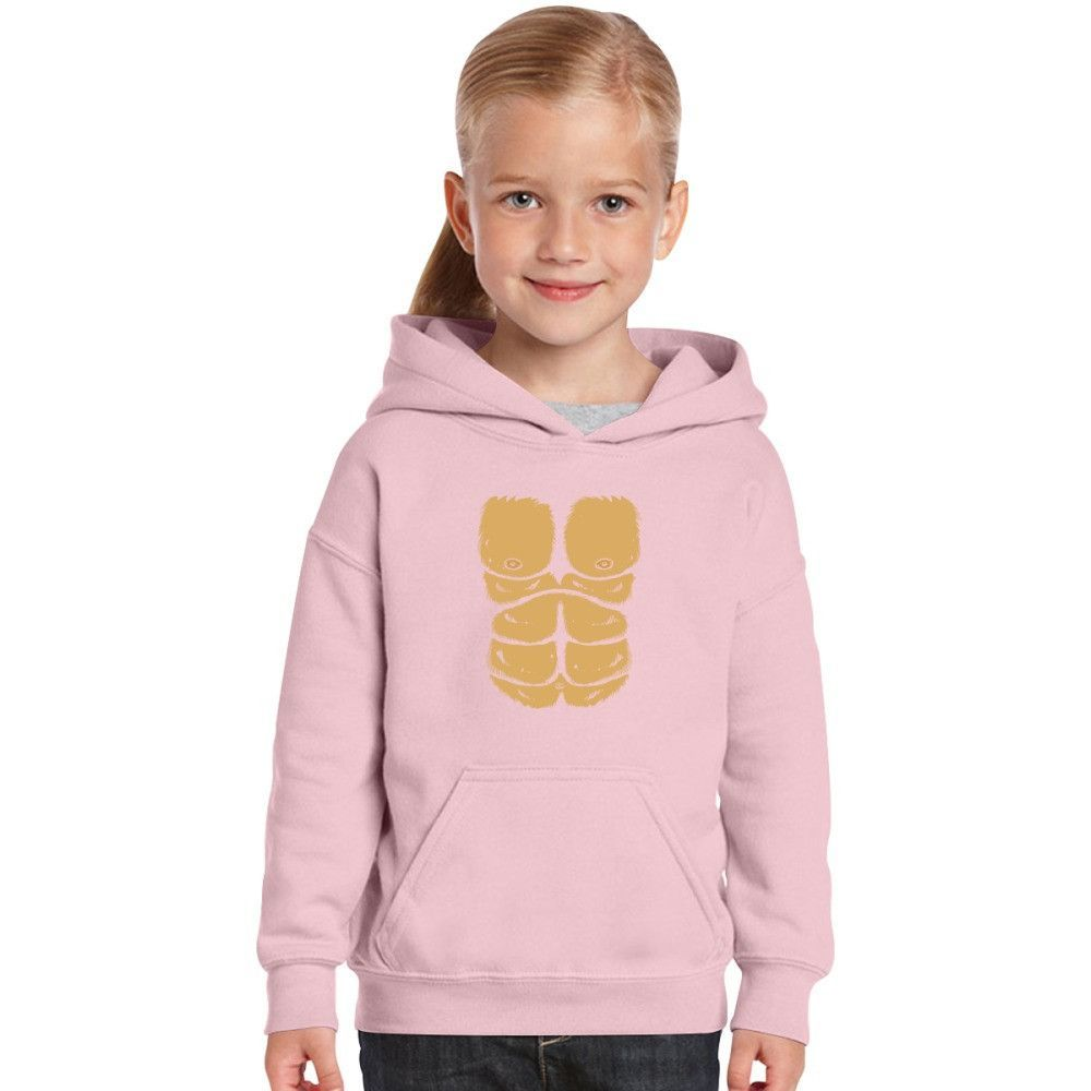 Made From Real Gorilla Chest Kids Hoodie