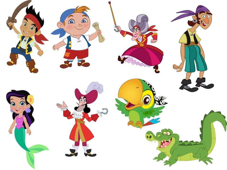 Jake y los piratas de nunca jamas Jake and the Neverland Pirates ...