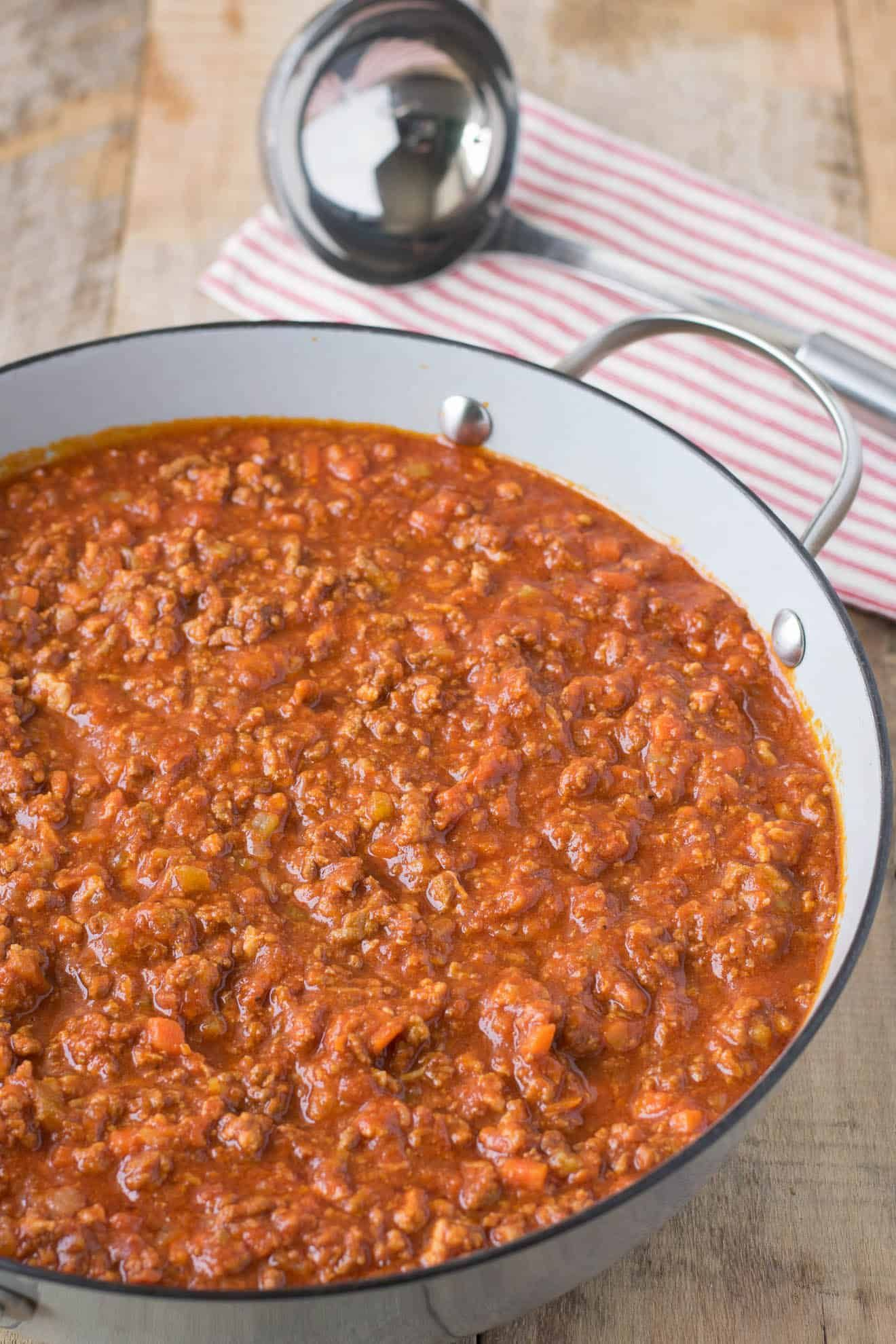 Traditional Bolognese Sauce This Traditional Bolog