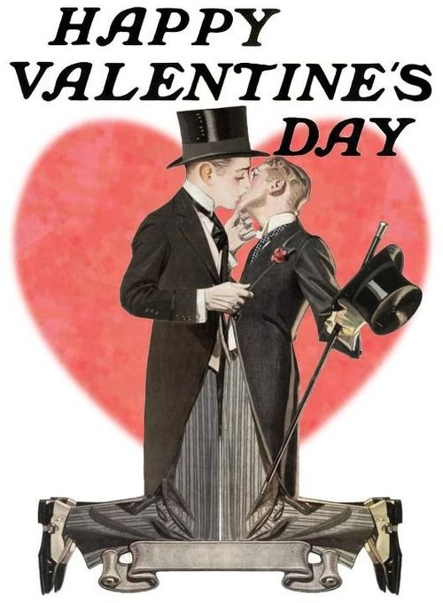 gay Valentines day card Joseph Christian Leyendecker – Gay Valentines Card