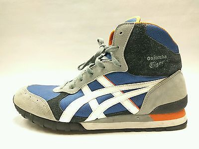 c7884c08 Asics Onitsuka Tiger D944N Retro HighTop Athletic Shoe Blue Grey ...