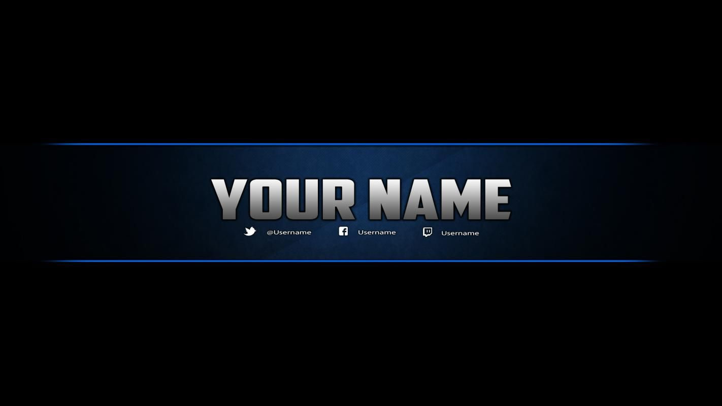 Youtube Banner Template Download Youtube Banner Template Banner Template Photoshop Youtube Banners