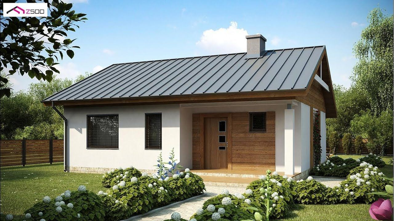 square meter small and simple house design with floor plan