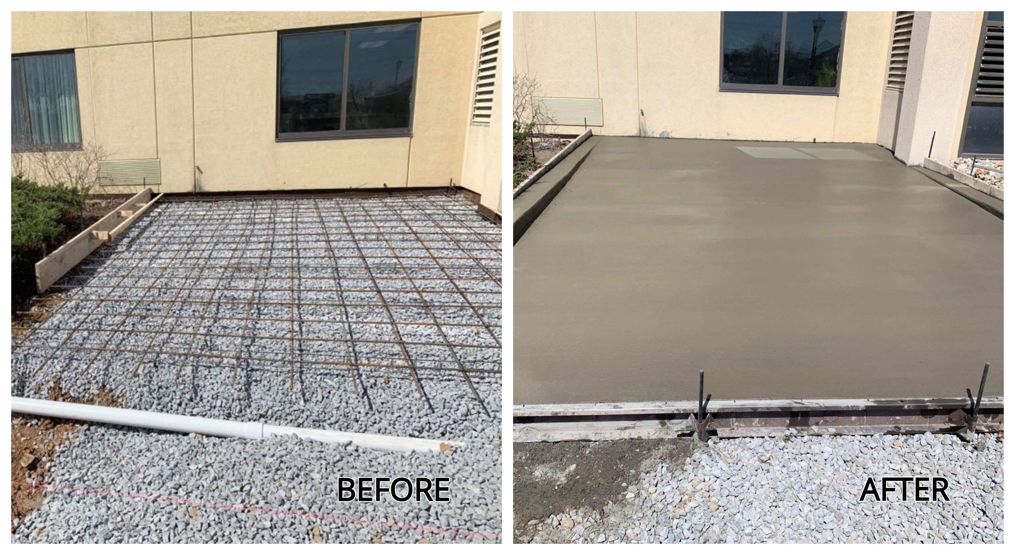 Let Us Do Your Concrete Flatwork Flatwork Can Be As Simple As A