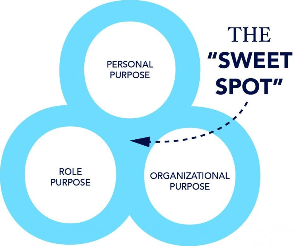 Insights Into The Sweet Spot Of Purpose  Job Employment Purpose