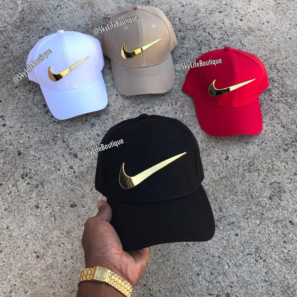 Golden Check Adjustable BB Caps
