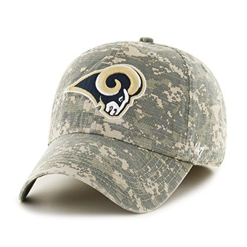 timeless design 4424e 90e60 NFL St Louis Rams Officer Franchise Fitted Hat Small Digital Camo -- Check  out this great product.