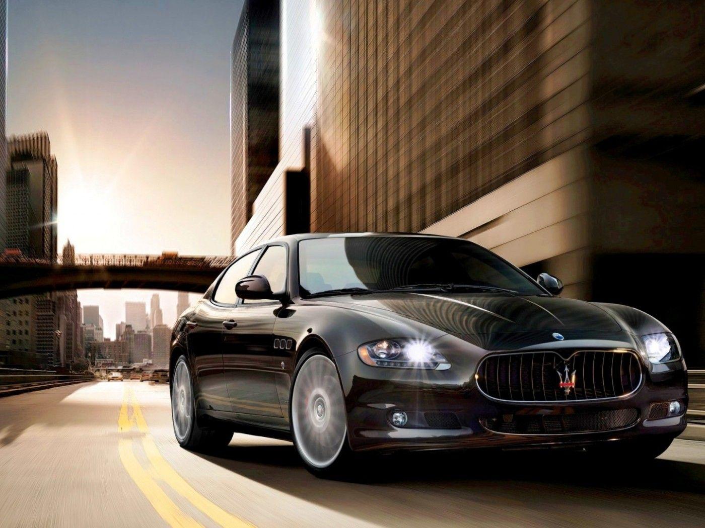Elegant Stunning Black Maserati Quattroporte Wallpaper Awesome Design