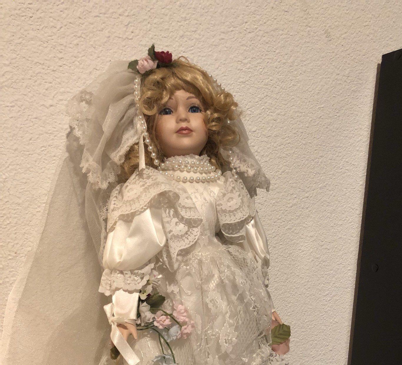 18 inch Porcelain Bride Dolls Collection #bridedolls