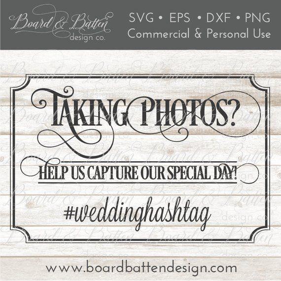 Wedding Hairstyle Hashtags: Wedding Hashtag Sign Svg
