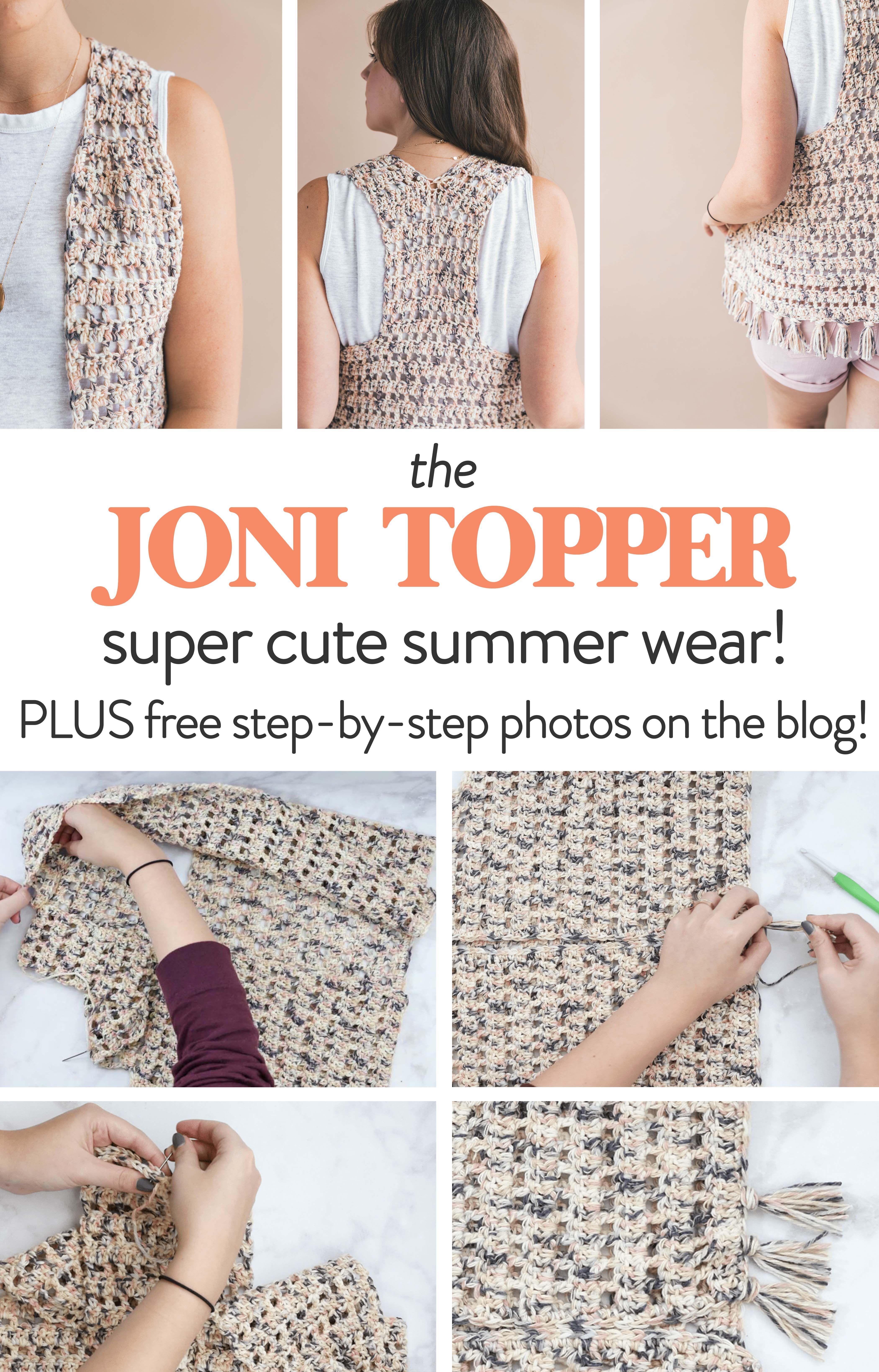 Crochet Joni Topper | Crochet | Pinterest | Tejido, Patrón de ...