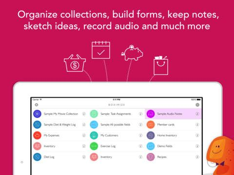 Boximize Structured Note Taking App Personal Database Form Builder And Organizer App Reviews Pen And Paper App