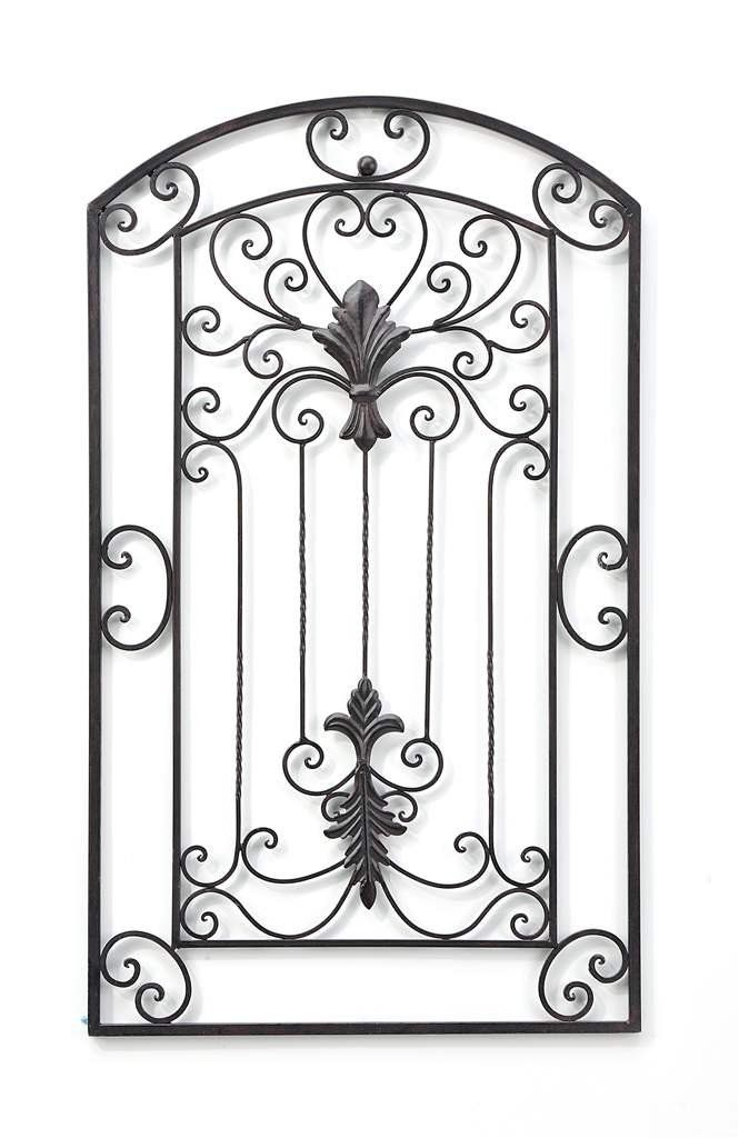 Amazon Com Gift Craft Scrolled Gate Metal Wall Decor