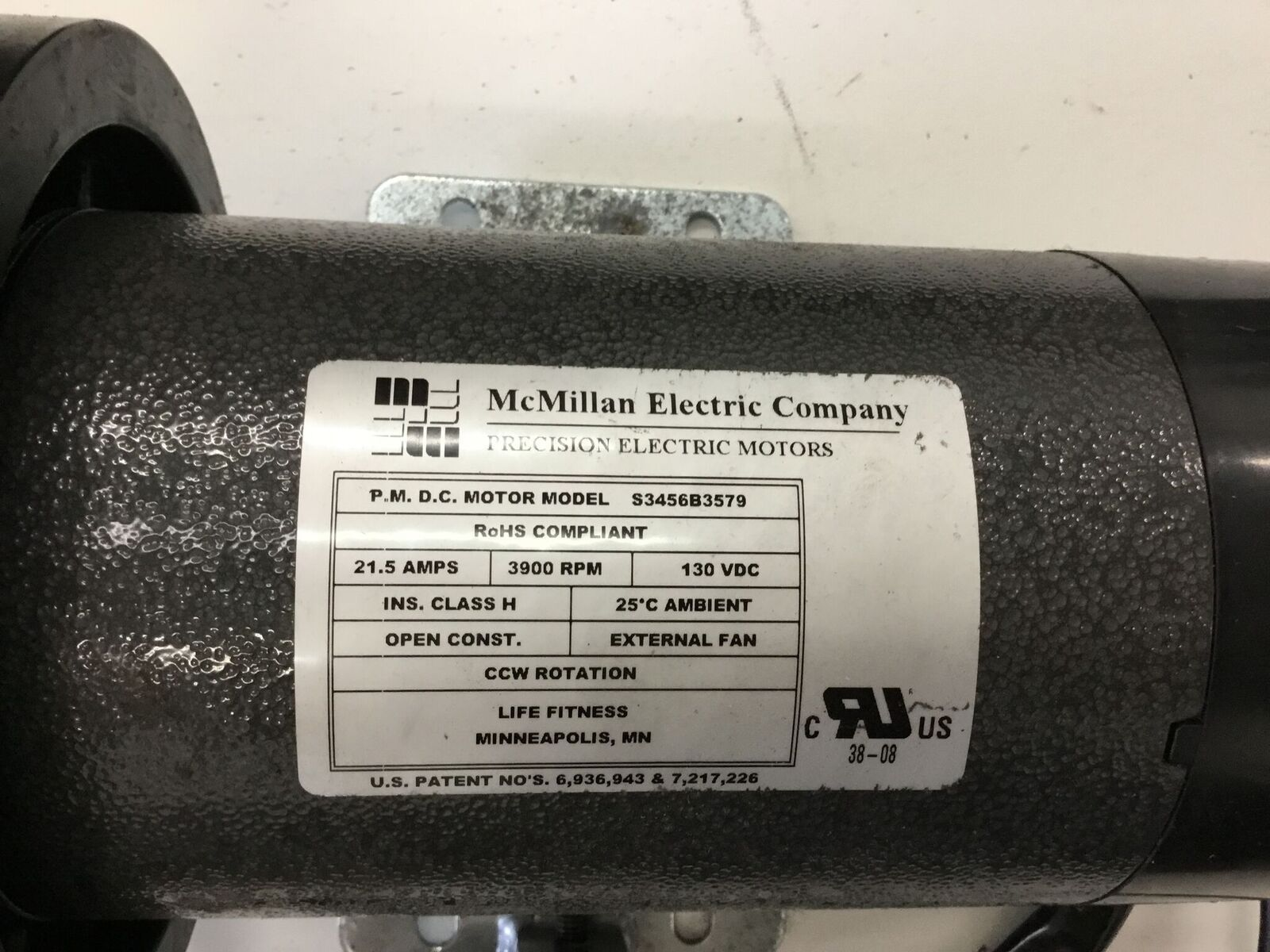 Life Fitness F3 T3 Treadmill Mcmillan Electric Dc Drive Motor S3456b3579 Ebay Link
