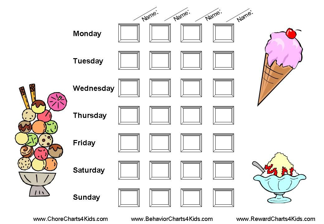 Reward Charts for Multiple Kids Family Pinterest Kid, Charts - free printable reward charts for teachers