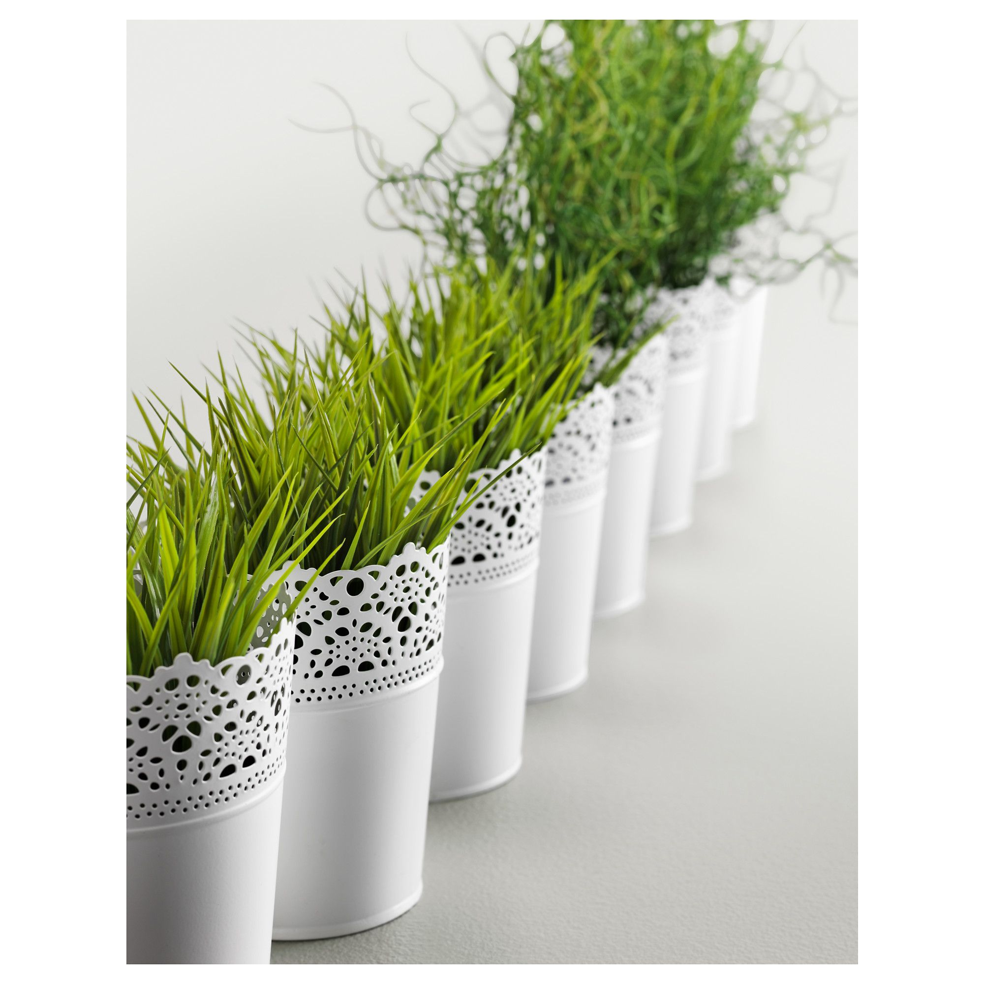 Skurar Plant Pot Off White Indoor Outdoor Off White