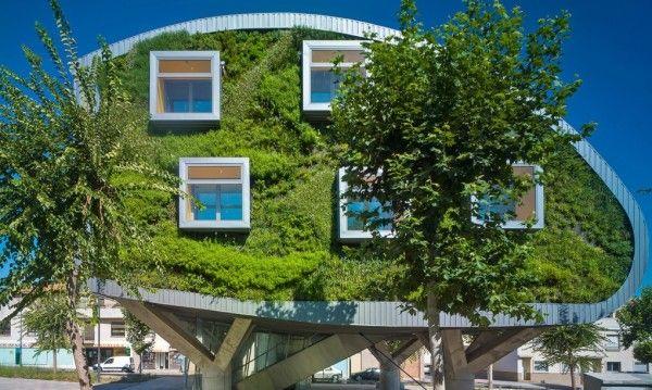 Edifício Net Zero Energy Em Málaga, Na Espanha. Building DesignsSustainable  ...