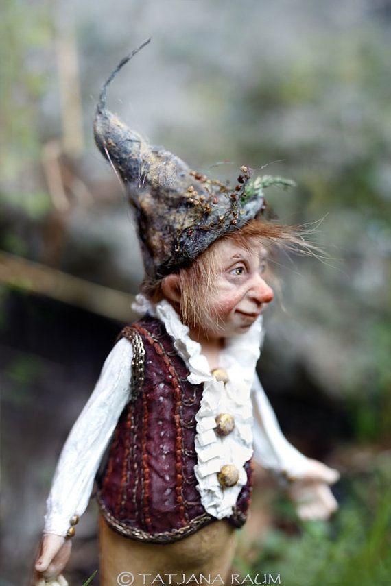 One of a kind miniature artdoll 112th by Tatjana Raum by chopoli