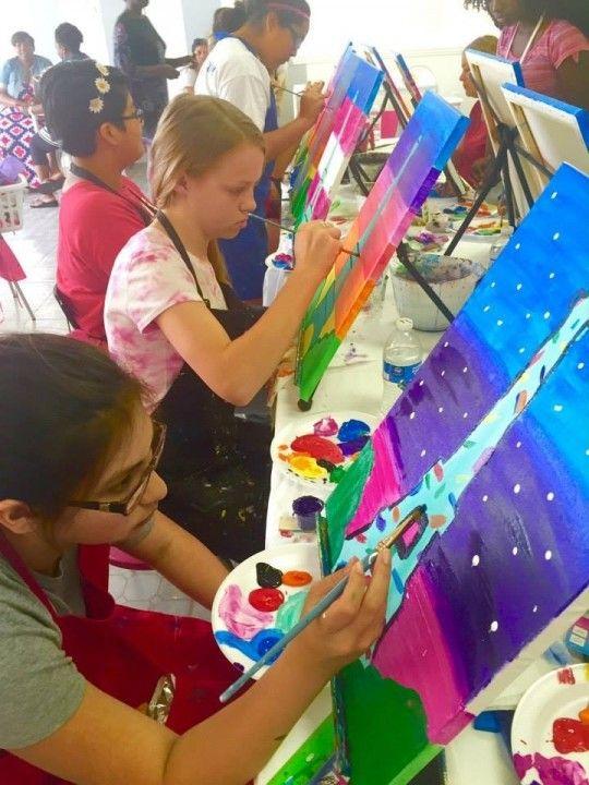 2015 Summer Art Camp Houston, Texas  #Kids #Events